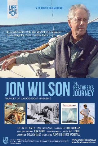 Double Feature Film Party : Jon Wilson:The Restorer's Journey & Warwick Tompkins: Lifetime at Sea