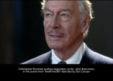 Barrymore Starring Christopher Plummer: Special Screening on November 15th
