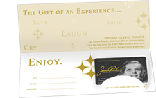 Jane Pickens Theater Gift Cards