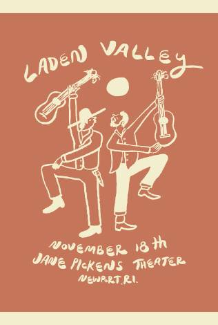 Laden Valley w/ Haunt the House LIVE